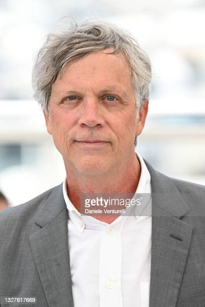 """Director Todd Haynes attends the """"The Velvet Underground"""" photocall during the 74th annual Cannes Film Festival on July 08, 2021 in Cannes, France."""