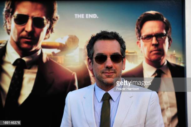 Director Todd Phillips arrives at the premiere of Warner Bros Pictures' 'Hangover Part 3' on May 20 2013 in Westwood California