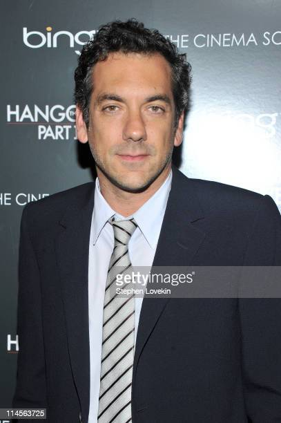 Director Todd Phillips attends the Cinema Society Bing screening of The Hangover Part II at Landmark Sunshine Cinema on May 23 2011 in New York City