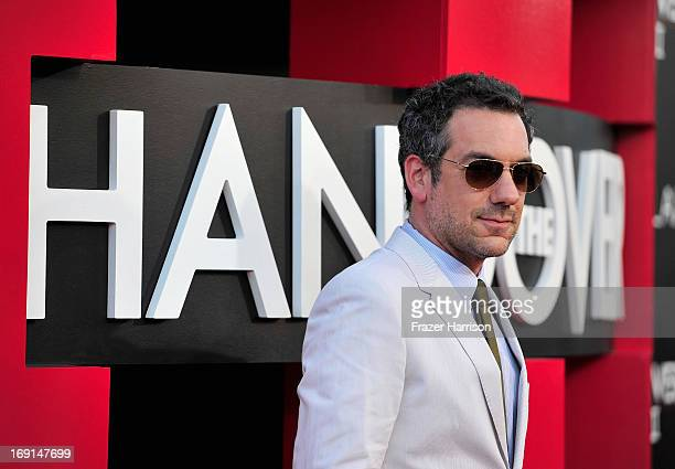 Director Todd Phillips attends the premiere of Warner Bros Pictures' Hangover Part 3 at Westwood Village Theater on May 20 2013 in Westwood California