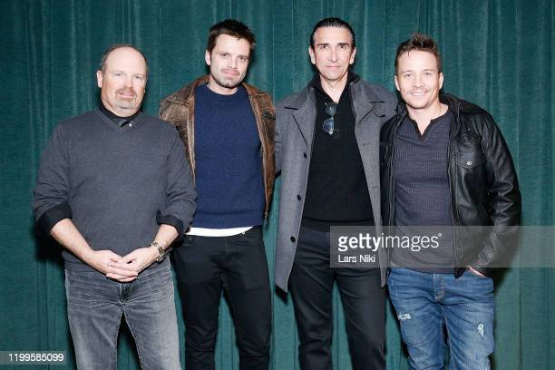 """Director Todd Robinson, actor Sebastian Stan, producer Sidney Sherman and actor Travis Aaron Wade attend a special screening of """"The Last Full..."""