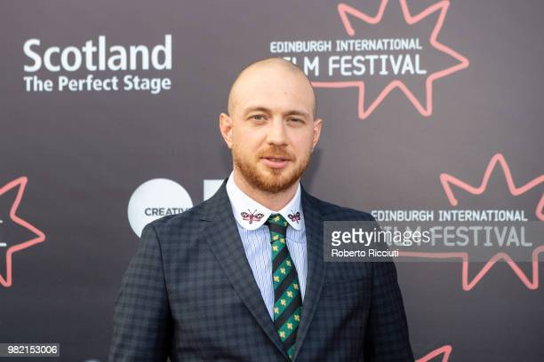 Director Tom Beard attends a photocall for the World Premiere of 'Two for joy' during the 72nd Edinburgh International Film Festival at Cineworld on...
