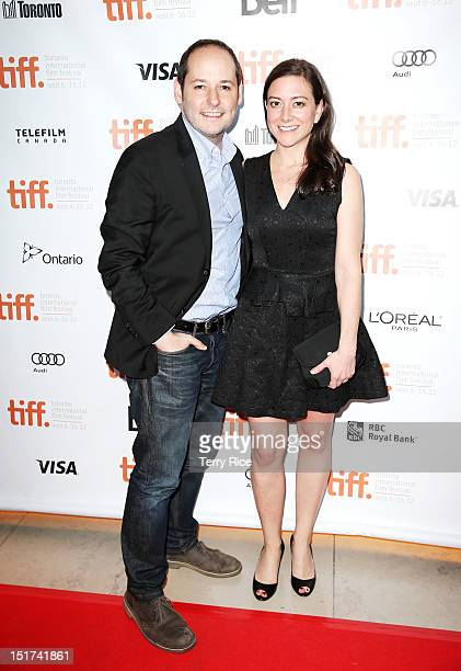 Director Tom Donahue and Editor Jill Schweitzer attend the Casting By Premiere at the 2012 Toronto International Film Festival at the Isabel Bader...