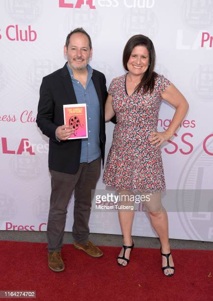 """Director Tom Donahue and Susanne Jacobson attend a screening of Donahue's documentary """"This Changes Everything"""" on July 25, 2019 in Los Angeles,..."""