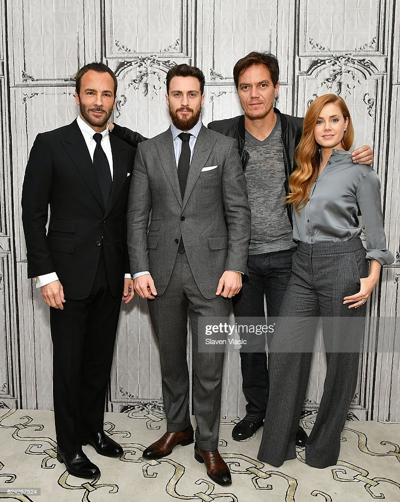 "The Build Series Presents Tom Ford, Amy Adams, Michael Shannon & Aaron Taylor Johnson Discussing ""Nocturnal Animals"""