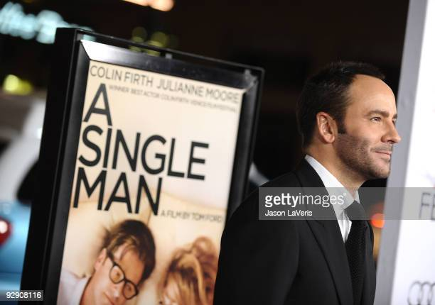 """Director Tom Ford attends the AFI Fest 2009 premiere of """"A Single Man"""" at Grauman's Chinese Theatre on November 5, 2009 in Hollywood, California."""