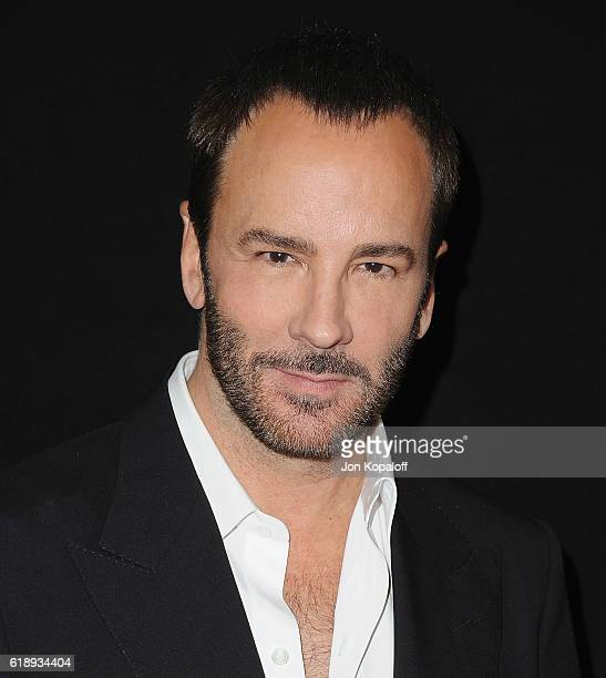 """Director Tom Ford attends the Photo Call For Focus Features' """"Nocturnal Animals"""" at Four Seasons Hotel Los Angeles at Beverly Hills on October 28,..."""