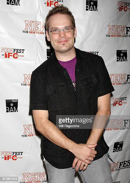 Director Tom Gustafson attends the 20th Annual Newfest Were The World Mine Premiere on June 15 2008 at AMC Loews 34th Street Theater in New York City