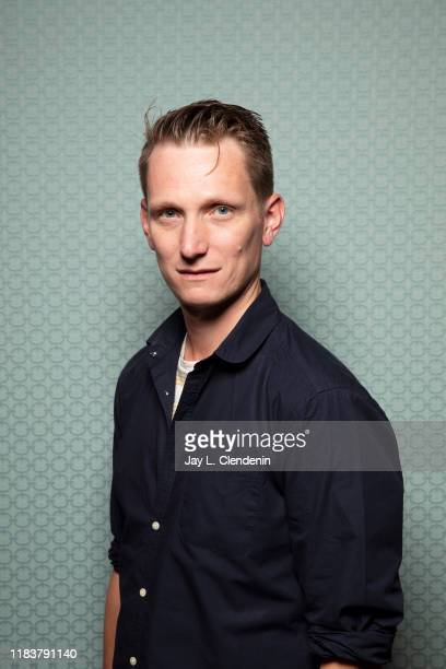 Director Tom Harper from 'The Aeronauts' is photographed for Los Angeles Times on September 8, 2019 at the Toronto International Film Festival in...
