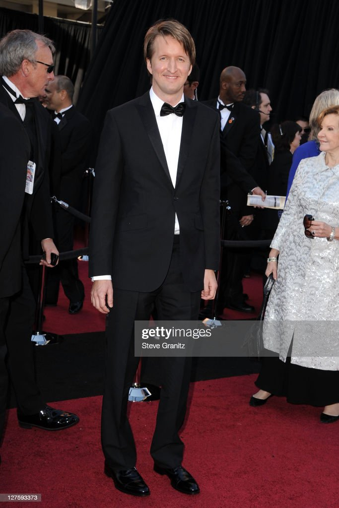 Director Tom Hooper arrives at the 83rd Annual Academy Awards held at the Kodak Theatre on February 27, 2011 in Hollywood, California.