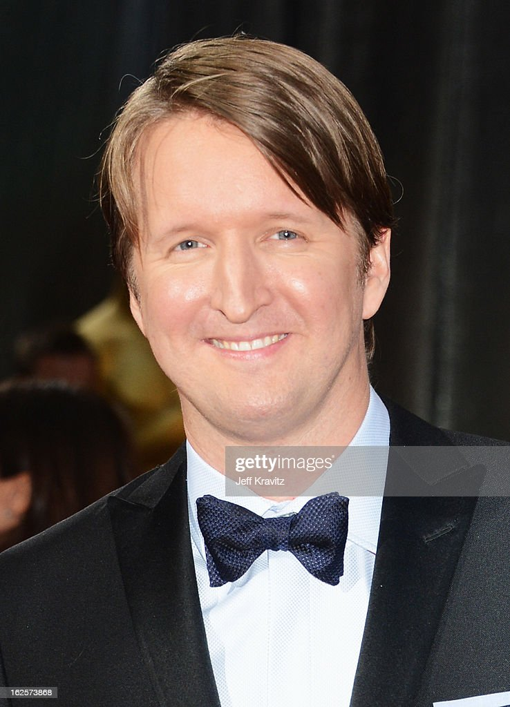 Director Tom Hooper arrives at the Oscars at Hollywood & Highland Center on February 24, 2013 in Hollywood, California.