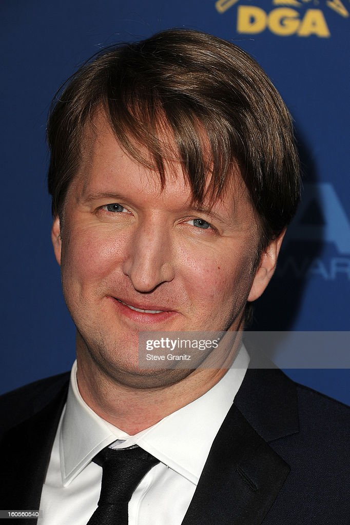 Director Tom Hooper attends the 65th Annual Directors Guild Of America Awards at The Ray Dolby Ballroom at Hollywood & Highland Center on February 2, 2013 in Hollywood, California.