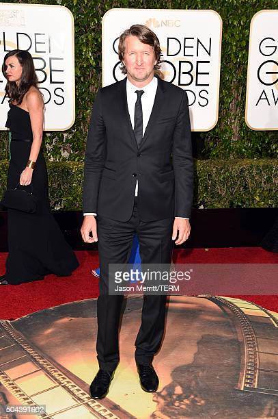 Director Tom Hooper attends the 73rd Annual Golden Globe Awards held at the Beverly Hilton Hotel on January 10 2016 in Beverly Hills California