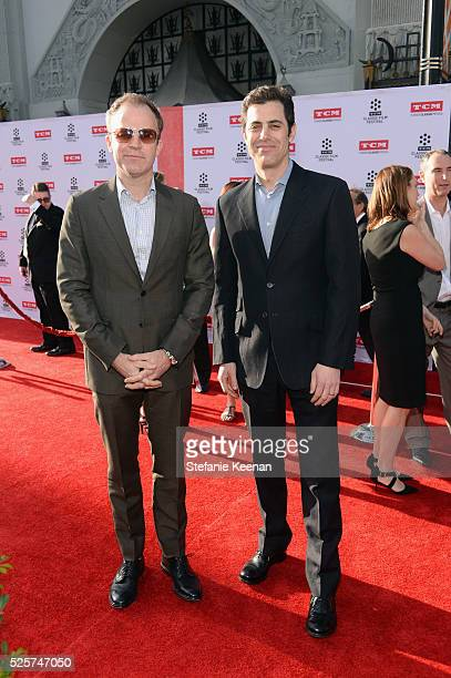Director Tom McCarthy and screenwriter Josh Singer attend 'All The President's Premiere' during the TCM Classic Film Festival 2016 Opening Night on...