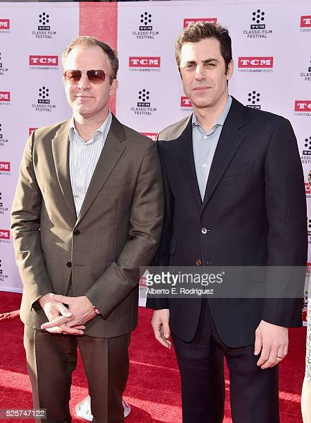 Director Tom McCarthy and screenwriter Josh Singer attend 'All The President's Men' Premiere during the TCM Classic Film Festival 2016 Opening Night...