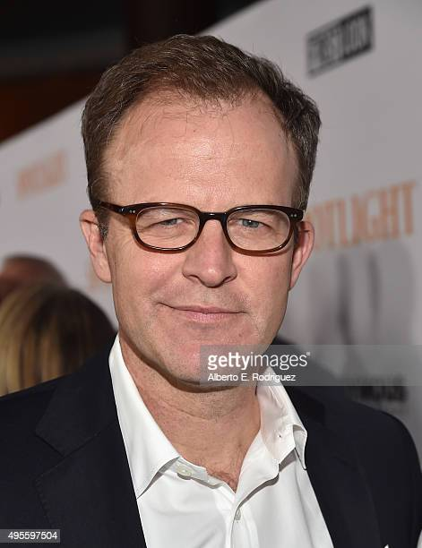 "Director Tom McCarthy attends a special screening of Open Road Films' ""Spotlight"" at The DGA Theater on November 3, 2015 in Los Angeles, California."