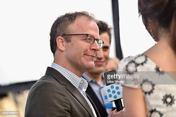 Director Tom McCarthy attends 'All The President's Men' premiere during the TCM Classic Film Festival 2016 Opening Night on April 28 2016 in Los...