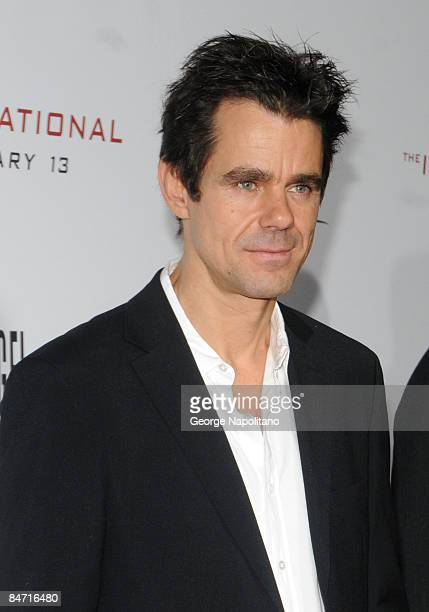 Director Tom Tykwer attends the Cinema Society and Angel by Thierry Mugler screening of 'The International' at AMC Lincoln Square on February 9 2009...