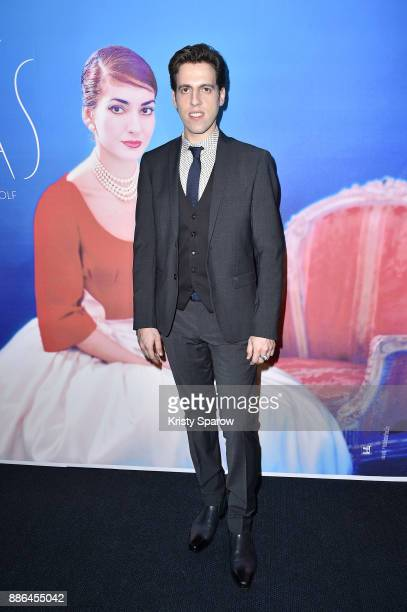 Director Tom Volf attends the Maria By Callas Paris Premiere at Cinema UGC Normandie on December 5 2017 in Paris France
