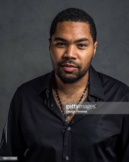 Director Tommy Oliver of '1982' poses at the Guess Portrait Studio during 2013 Toronto International Film Festival on September 12 2013 in Toronto...