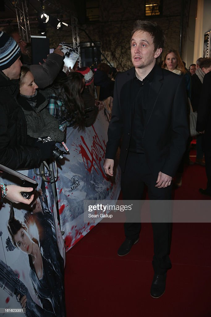 Director Tommy Wirkola attends the German premiere of 'Hansel and Gretel: Witch Hunters' at the Kulturbrauerei on February 12, 2013 in Berlin, Germany.