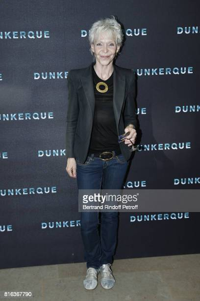 Director Tonie Marshall attends 'Dunkirk' photocall at Cinematheque Francaise on July 17 2017 in Paris France