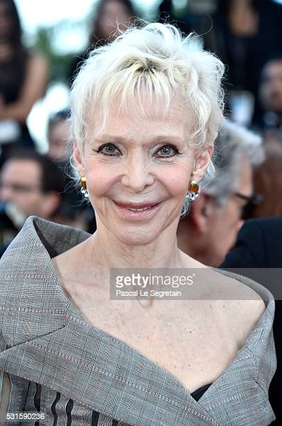 Director Tonie Marshall attends the 'From The Land Of The Moon ' premiere during the 69th annual Cannes Film Festival at the Palais des Festivals on...