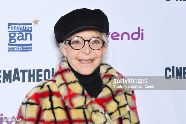 Director Tonie Marshall attends the JeanLuc Godard's Retrospective at La Cinematheque on January 08 2020 in Paris France