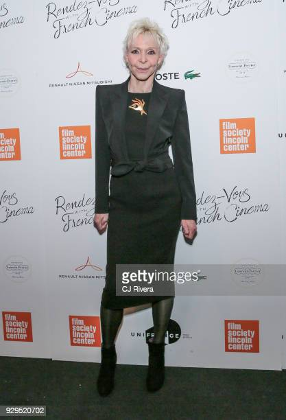 Director Tonie Marshall attends the RendezVous with French Cinema opening night premiere of 'Barbara' at Walter Reade Theater on March 8 2018 in New...
