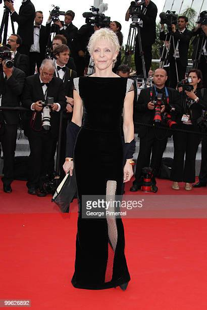 Director Tonie Marshall attends the 'The Princess of Montpensier' Premiere held at the Palais des Festivals during the 63rd Annual International...