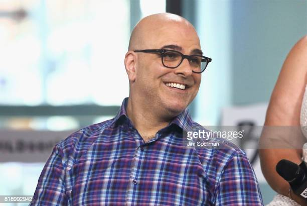 Director Tony Leondis attends Build to discuss their new movie The Emoji Movie at Build Studio on July 19 2017 in New York City