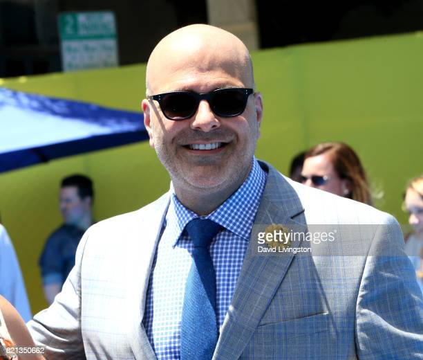Director Tony Leondis attends the premiere of Columbia Pictures and Sony Pictures Animation's The Emoji Movie at Regency Village Theatre on July 23...