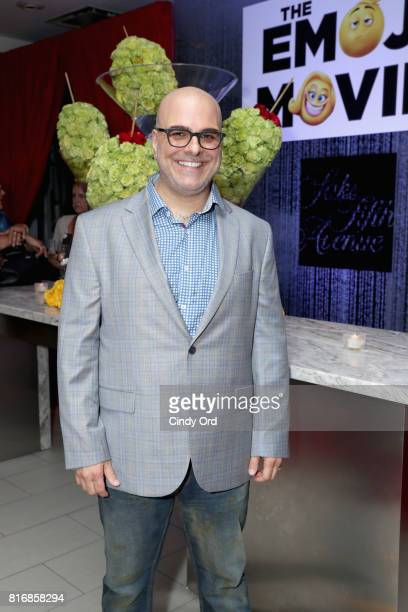 Director Tony Leondis attends the Saks Fifth Avenue and Sony Picture Animation's celebration of The Emoji Movie at Saks Fifth Avenue on July 17 2017...