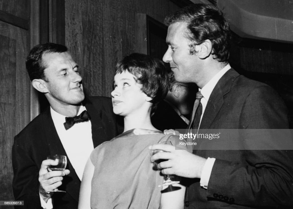 Tony Richardson, John Osborne And Rita Tushingham : News Photo