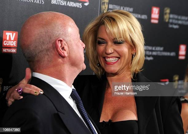 Director Tony Scott and Donna W Scott arrive at the BAFTA Los Angeles 2010 Britannia Awards held at the Hyatt Regency Century Plaza on November 4...