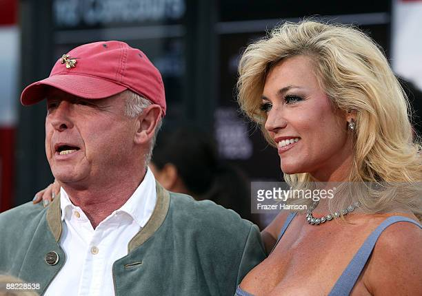 Director Tony Scott and Donna W Scott arrive at the Premiere Of Columbia Pictures' The Taking Of Pelham 1 2 3 at the Mann Village Theatre on June 4...