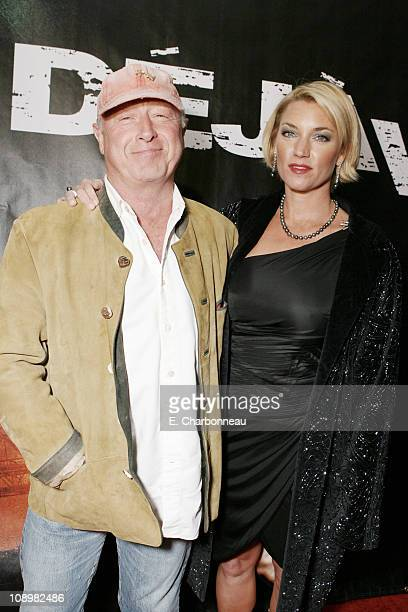 Director Tony Scott and Donna W Scott during World Premiere of Touchstone Pictures' and Jerry Bruckheimer Films' Deja Vu at The Ziegfeld...