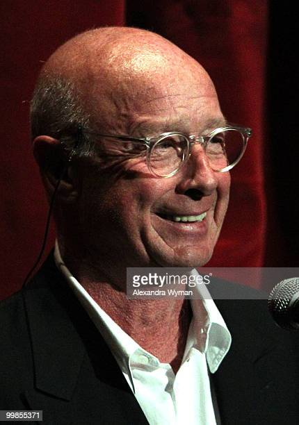 Director Tony Scott speaks onstage before the screening of 'Top Gun' during AFI Walt Disney Pictures' 'A Cinematic Celebration of Jerry Bruckheimer'...