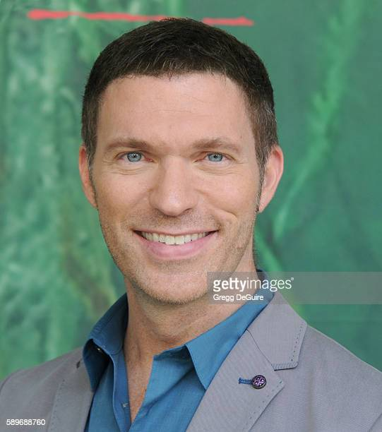 Director Travis Knight arrives at the premiere of Focus Features' Kubo And The Two Strings at AMC Universal City Walk on August 14 2016 in Universal...