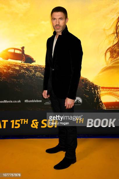 Director Travis Knight attends the Bumblebee UK Screening at Cineworld Leicester Square on December 05 2018 in London England