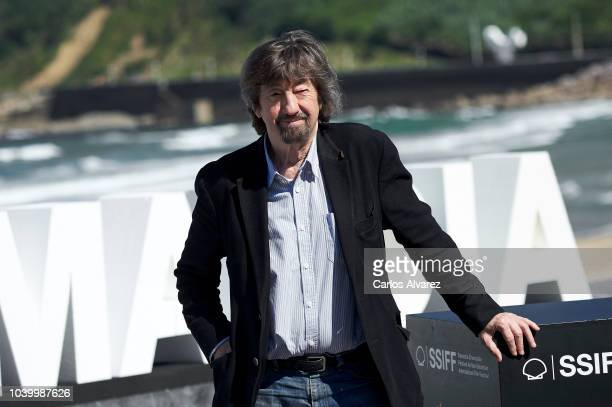Director Trevor Nunn attends the 'Red Joan' photocall during the 66th San Sebastian International Film Festival on September 25 2018 in San Sebastian...