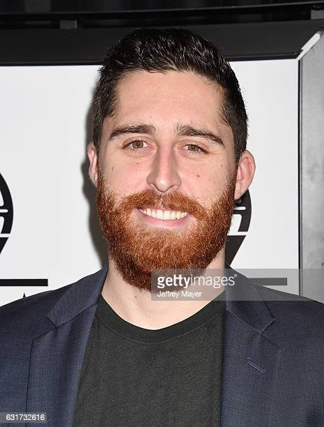 Director Trey Edward Shults attends the 42nd annual Los Angeles Film Critics Association Awards at InterContinental Los Angeles Century City on...