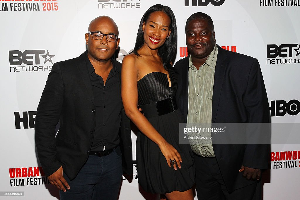 Director Trey Haley, ND Brown and Carl Webber attend the 2015 Urbanworld Film Festival at AMC Empire 25 theater on September 25, 2015 in New York City.