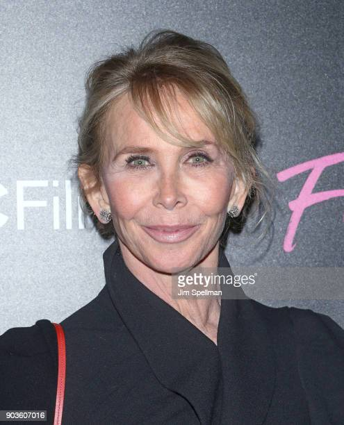 Director Trudie Styler attends the premiere of IFC Films' Freak Show hosted by The Cinema Society and Bluemercury at Landmark Sunshine Cinema on...