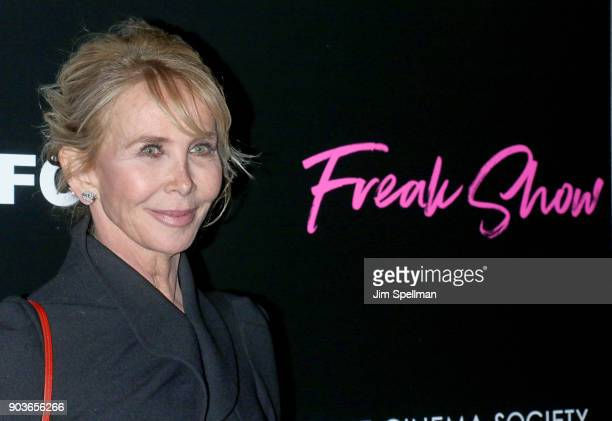 Director Trudie Styler attends the premiere of IFC Films' 'Freak Show' hosted by The Cinema Society and Bluemercury at Landmark Sunshine Cinema on...