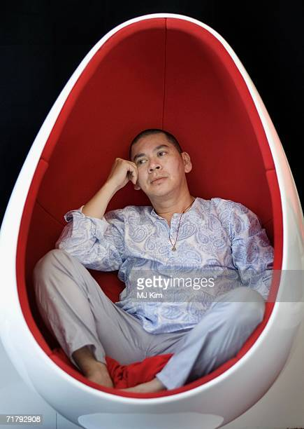 Director Tsai MingLiang attends a photo session to promote the film 'Dont Want To Sleep Alone' during the seventh day of the 63rd Venice Film...