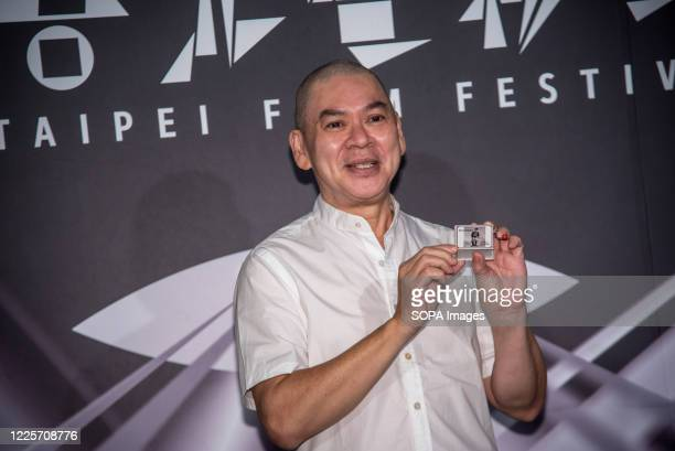 Director Tsai MingLiang attends the press conference of the Taipei film festival to promote his new work 'Days' at Taipei Zhongshan Hall