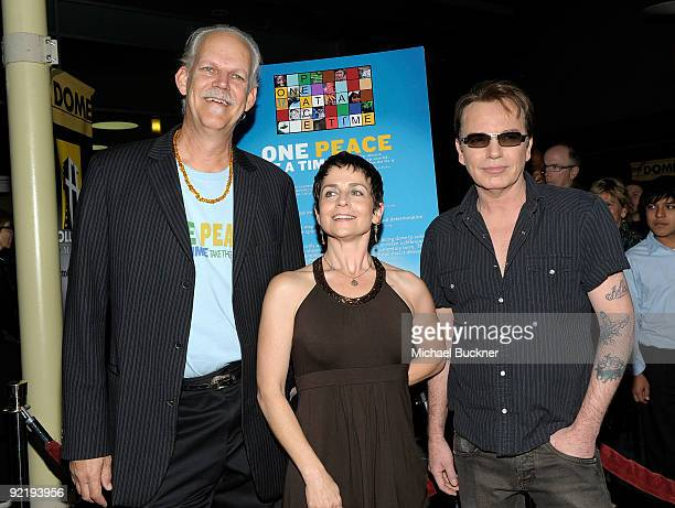 Director Turk Pipkin producer Christy Pipkin and actor Billy Bob Thornton arrive at The Nobelity Project's One Peace At A Time screening at the...