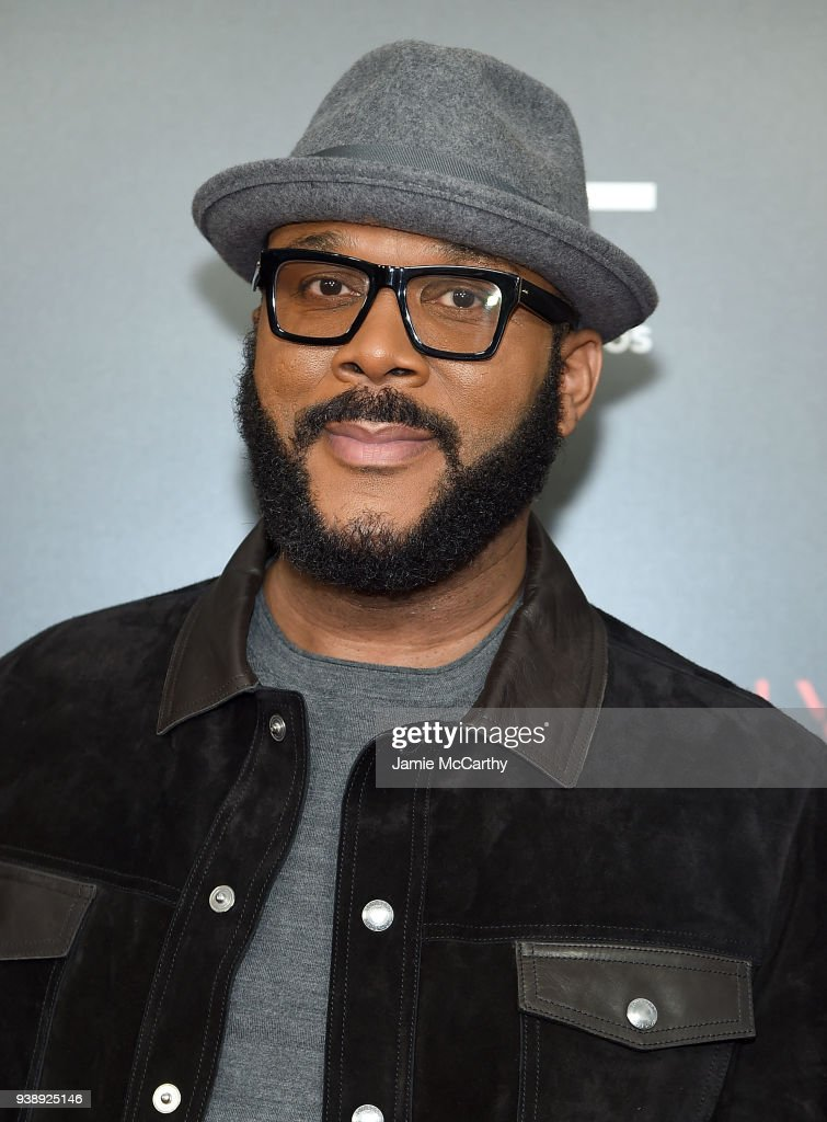 Director Tyler Perry attends the 'Acrimony' New York Premiere on March 27, 2018 in New York City.