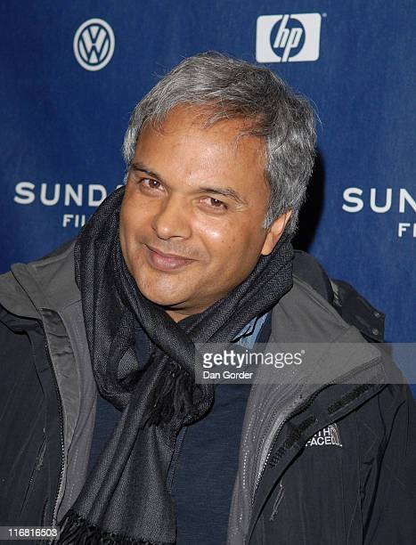 Director Udayan Prasad attends the premiere of The Yellow Handkerchief during the 2008 Sundance Film Festival at the Eccles Theatre on January 18...